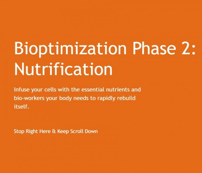 Bioptimization Phase 2