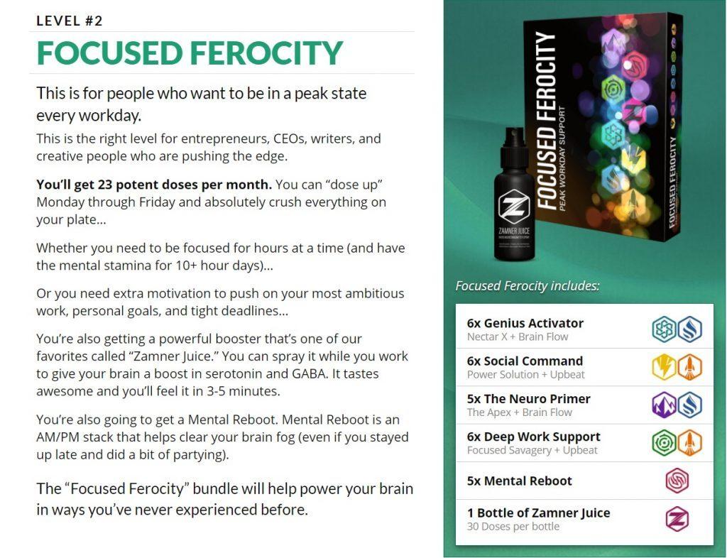 LEVEL 2 Focused Ferocity