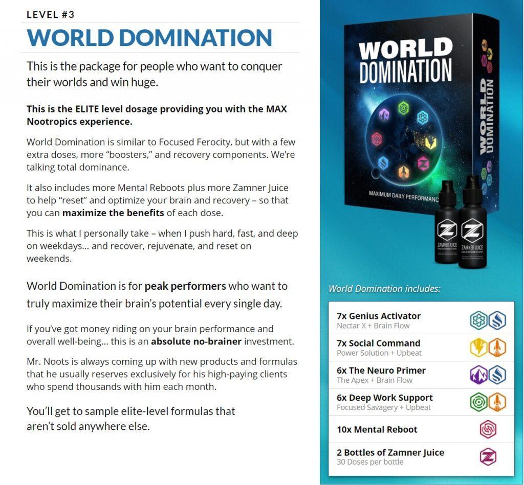 LEVEL 3 World Domination